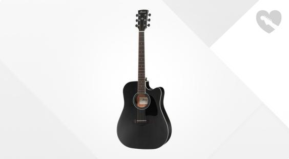 Full preview of Ibanez AW84CE-WK Artwood