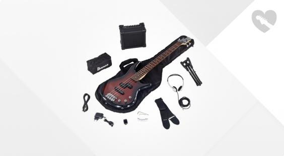 Full preview of Ibanez IJSR190-WNS Jumpstart Bassset