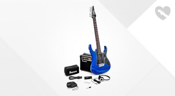 Full preview of Ibanez Jumpstart IJRG200-BL