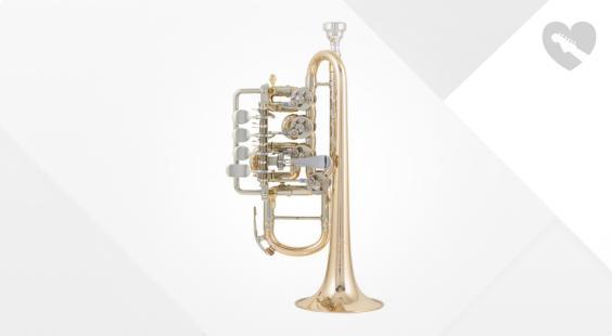 Full preview of Johannes Scherzer 8111-L High Bb/A-Trumpet