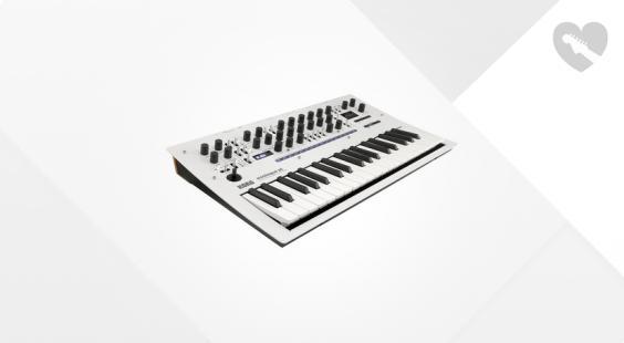 Full preview of Korg Minilogue XD Pearl White