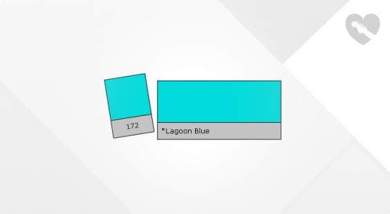 Full preview of Lee Filter Roll 172 Lagoon Blue