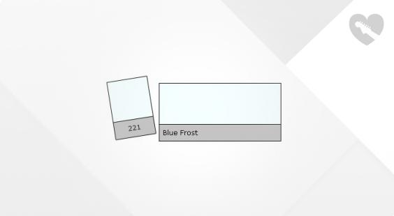 Full preview of Lee Filter Roll 221 Blue Frost