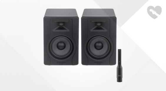 Full preview of M-Audio BX5 D3 Room Correction Bundle
