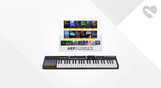 Full preview of M-Audio Code 49 Black - AIEP3 Bundle