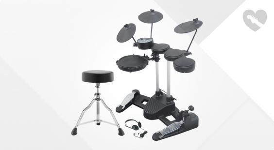 Full preview of Millenium HD-50 E-Drum Set Bundle