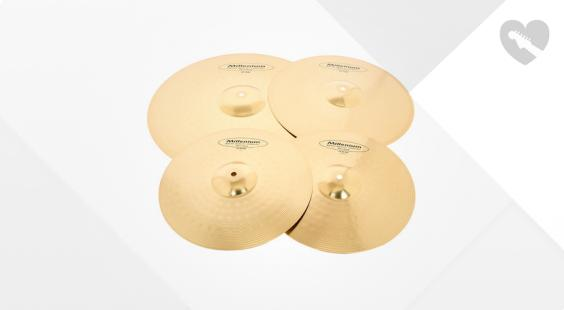 Full preview of Millenium HL3 Cymbal Set Standard