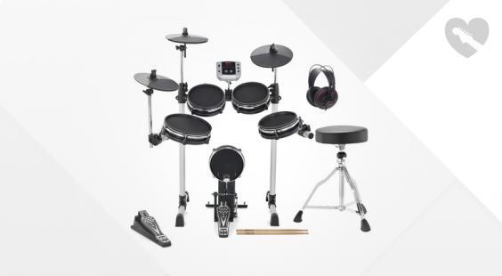 Full preview of Millenium MPS-150X E-Drum Mesh Bundle