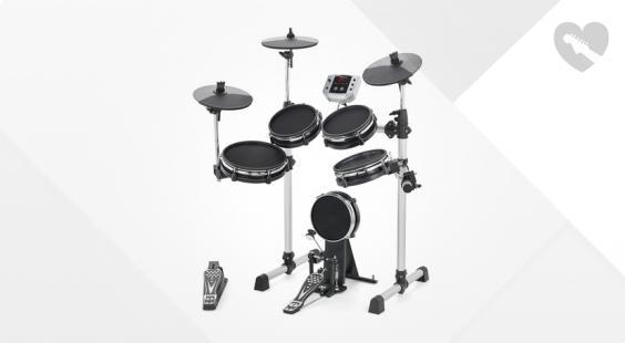 Full preview of Millenium MPS-150X E-Drum Mesh Set