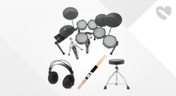 Full preview of Millenium MPS-850 E-Drum Set Bundle