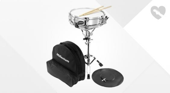 Full preview of Millenium SD-17 Snare Drum Starter Kit