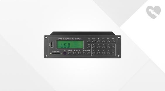 Full preview of Monacor IMG DPR-10