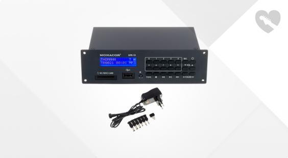 Full preview of Monacor IMG DPR-10 Power Supply Set