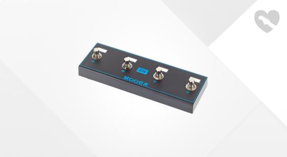 Full preview of Mooer AirSwitch Wireless Footswitch
