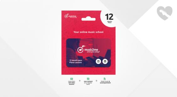 Full preview of music2me Piano Subscription 12 Months
