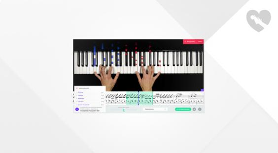 Full preview of music2me Piano Subscription 1 Month