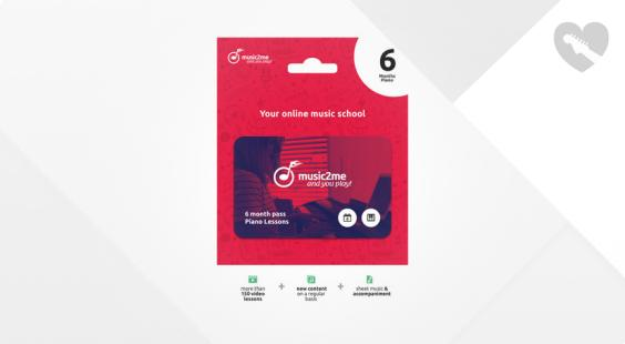 Full preview of music2me Piano Subscription 6 Months