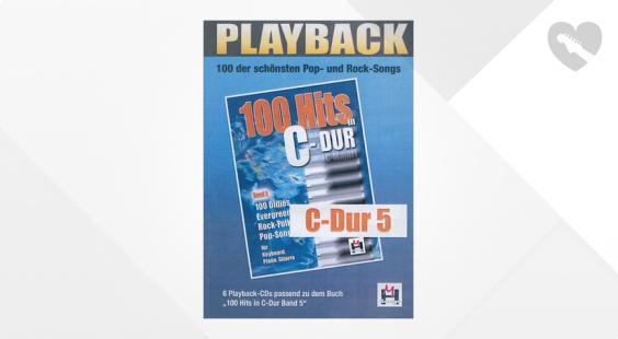 Full preview of Musikverlag Hildner 100 Hits C-Dur 5 Playback CDs