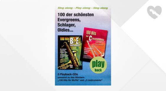 Full preview of Musikverlag Hildner 100 Hits Playback CDs Vol.1