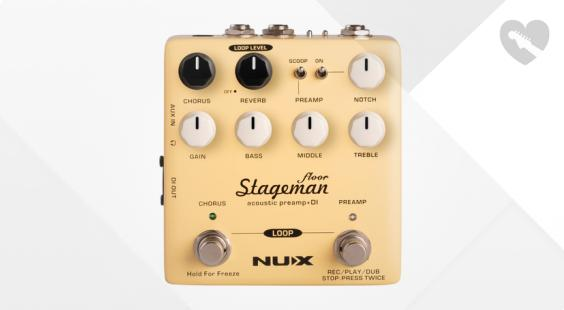 Full preview of Nux Stageman Floor Preamp