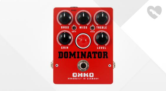 Full preview of OKKO Dominator Distortion MkII Red