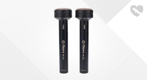 Full preview of Oktava Mk 102 MSP2 Black Stereo Pair