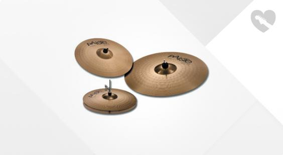 Full preview of Paiste Set 3 201 14'HH/ 16'C / 20'R