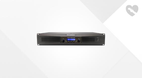Full preview of Phonic IAMP 3020 DSP