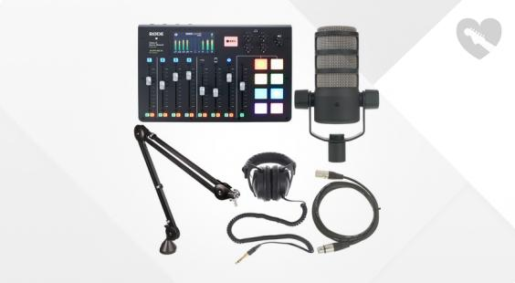 Full preview of Rode Rodecaster Pro Bundle 1