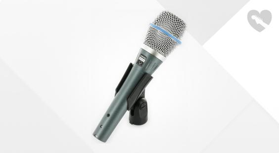 Full preview of Shure Beta 87A B-Stock