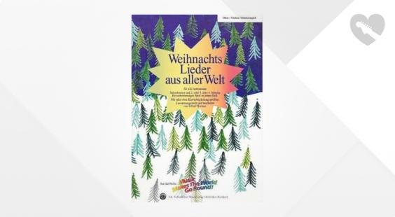 Full preview of Siebenhüner Musikverlag Weihnachten Welt Violin