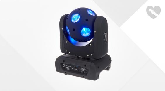 Full preview of Stairville Beam Ball 100 Quad LED 10x10W