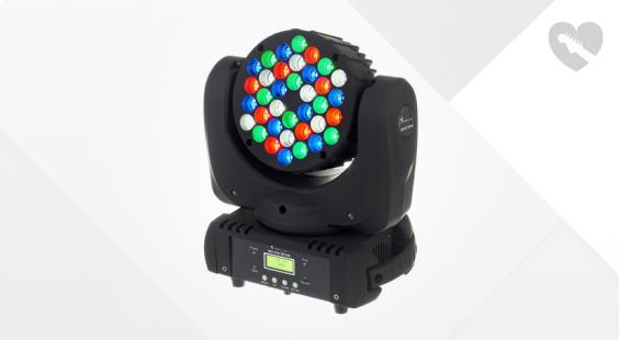"Take the ""IS IT GOOD FOR ME"" test for ""Stairville MH-100 Beam 36x3W LED"", read the reviews and join the community!"