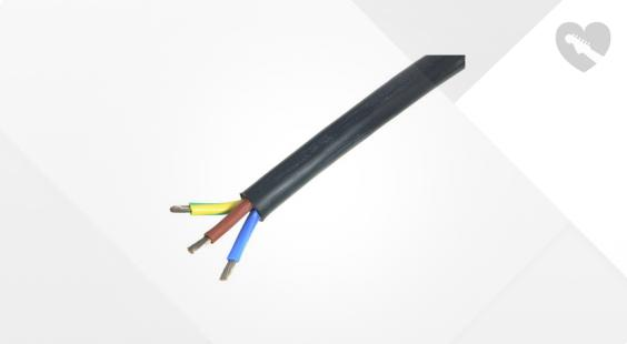 Full preview of Stairville SiliconCable 3x2,5 mm² black