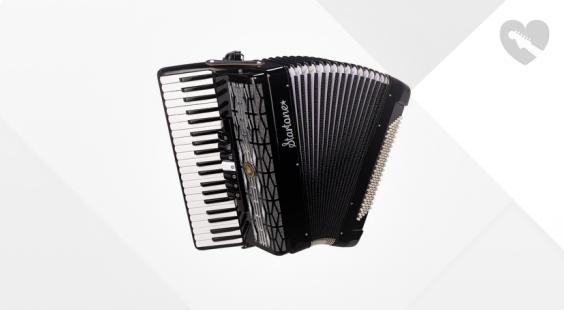 Full preview of Startone Piano Accordion 120 BK