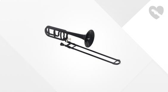 Full preview of Startone PTB-20 Bb/F- Trombone Black