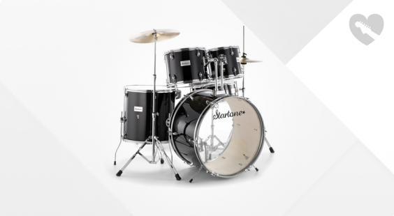 Full preview of Startone Star Drum Set Standard -BK