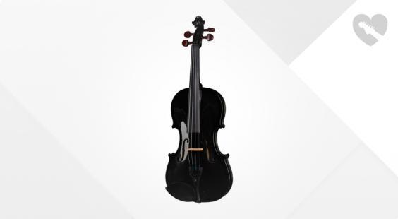 Full preview of Stentor SR1401 Harlequin Violin 4/4 BK