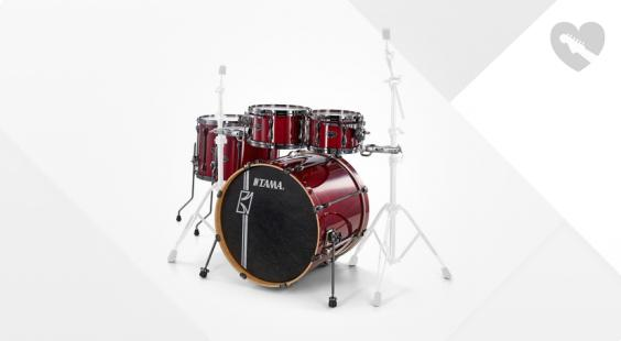 Full preview of Tama Superstar H.Maple R.Shells CCW