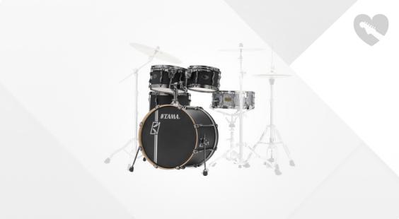 Full preview of Tama Superstar H.Maple+Snare FBK