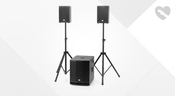 Full preview of the box CL 108/115MKII Basis Bundle