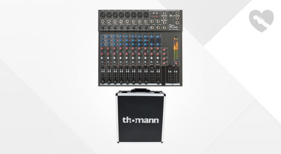 Full preview of the t.mix xmix 1402 USB Case Bundle