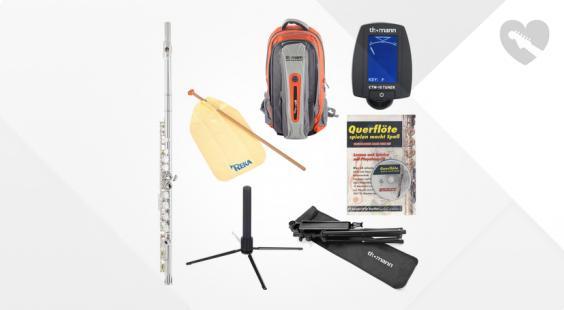 Full preview of Thomann FL-1000 CE Flute Starter Set