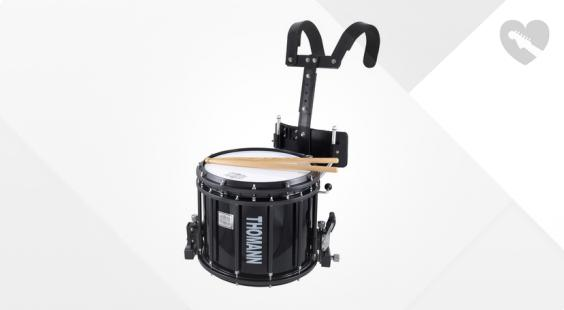 Full preview of Thomann SD1412BL HT Marching Snare