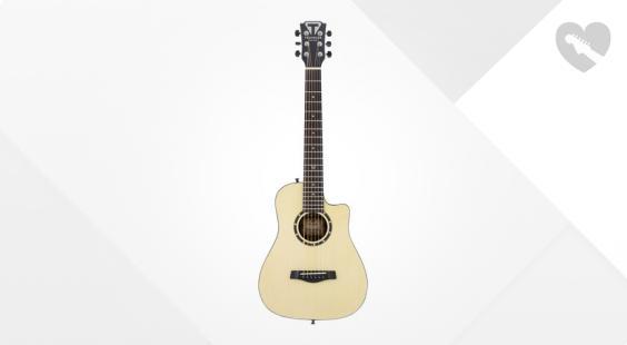 Full preview of Traveler Guitar CS-10 - Camper - Spruce Top