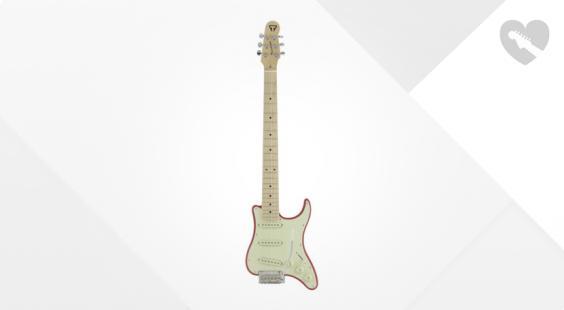 Full preview of Traveler Guitar Travelcaster Deluxe Fiesta Red