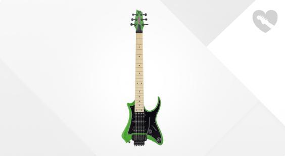 Full preview of Traveler Guitar V88S - Vaibrant Standard Green