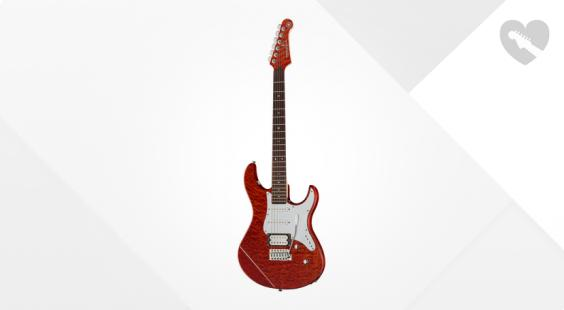 Full preview of Yamaha Pacifica 212V QM CBR