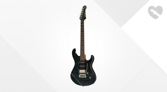 Full preview of Yamaha Pacifica 612V II FM TBL