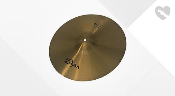 Full preview of Zildjian 18' Avedis Thin Crash